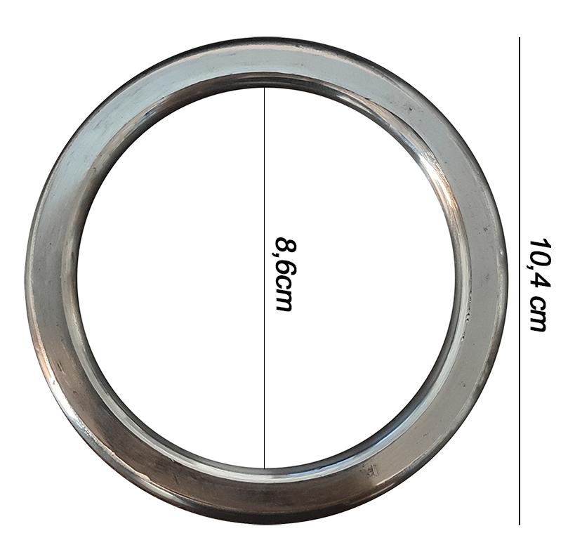 Argola numero 28 inox grossa espessura 8mm