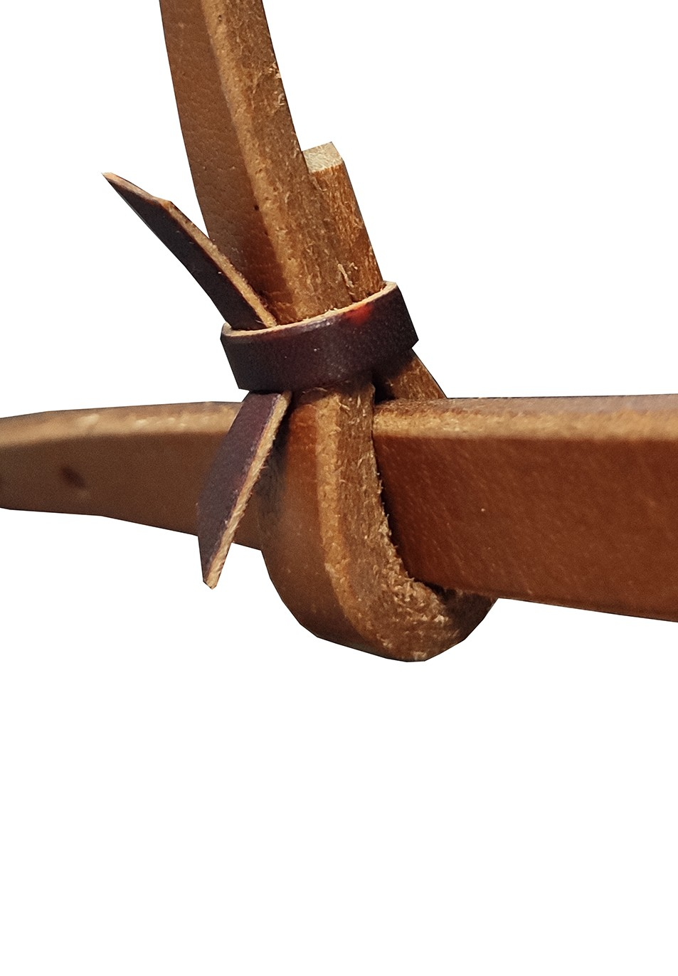Cabeçada em couro Com fivela de inox