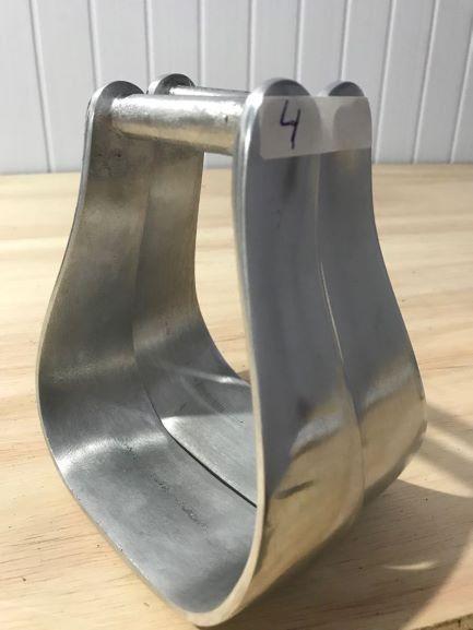 Estribo / Estrivo De Aluminio Para Sela / Selaria Modelo 4