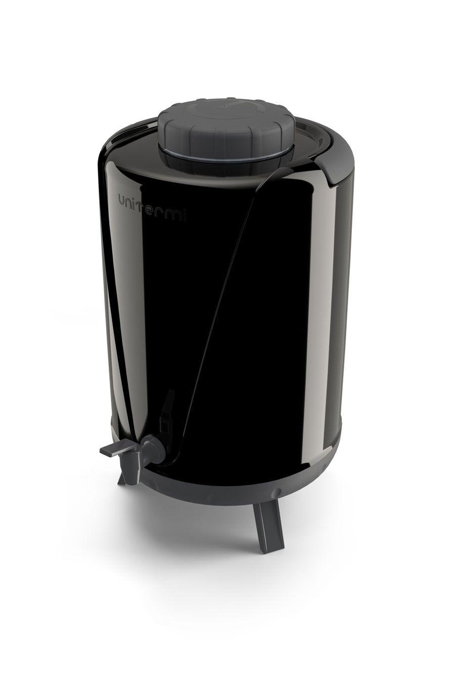 Garrafa Térmica 10 Litros Tambor Botijão Galão Com Torneira , pezinho e alça