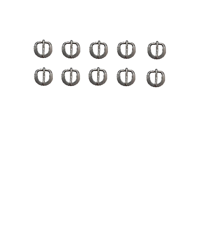 kit 10 Fivelas Inox Traia Cabeçada E Peitoral 2,0 Cm