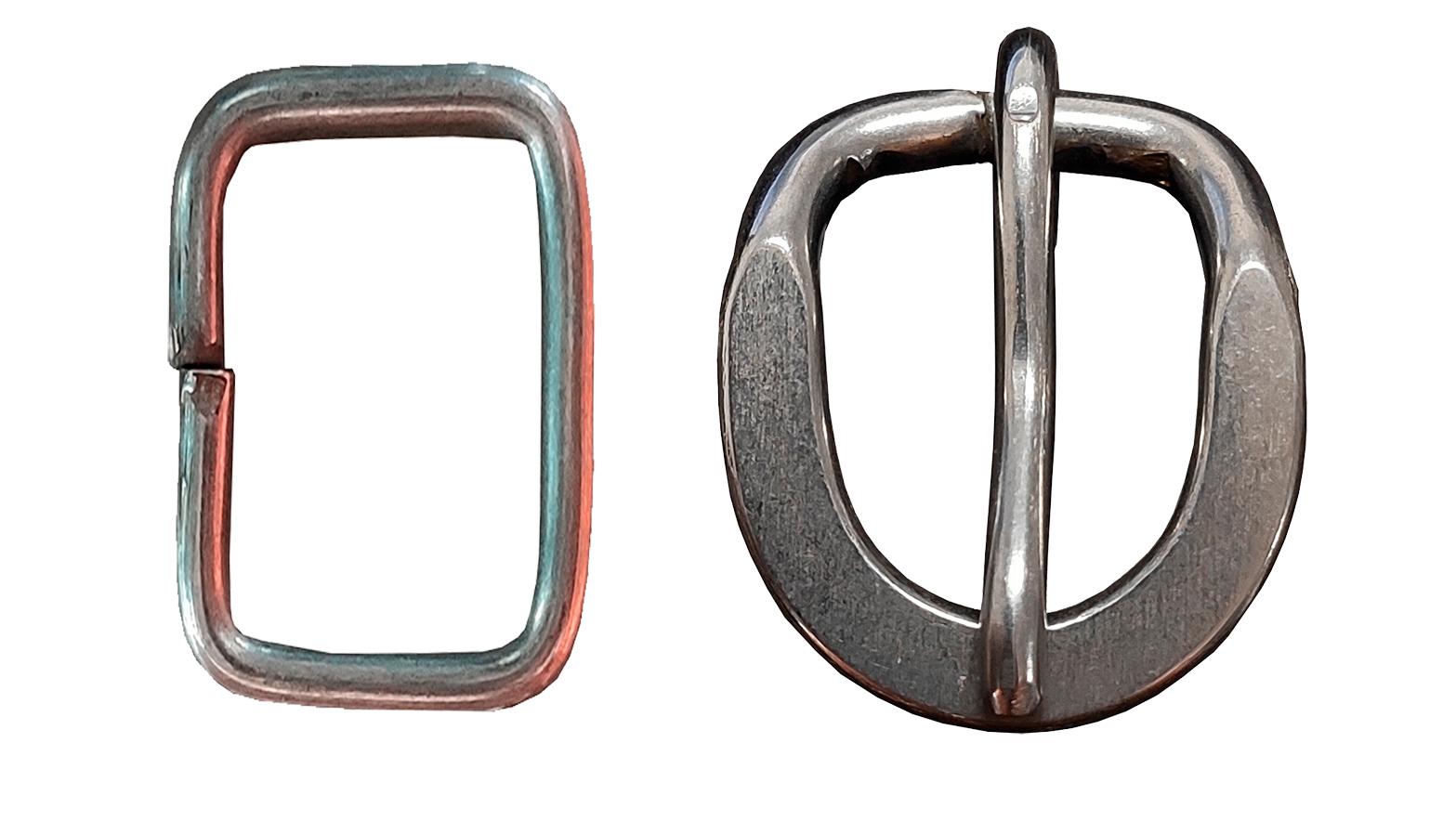 Kit com Passador e Fivela de Inox 2cm