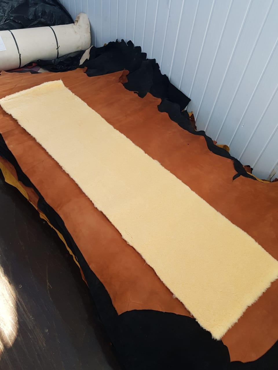 Lã acrílica para Sela