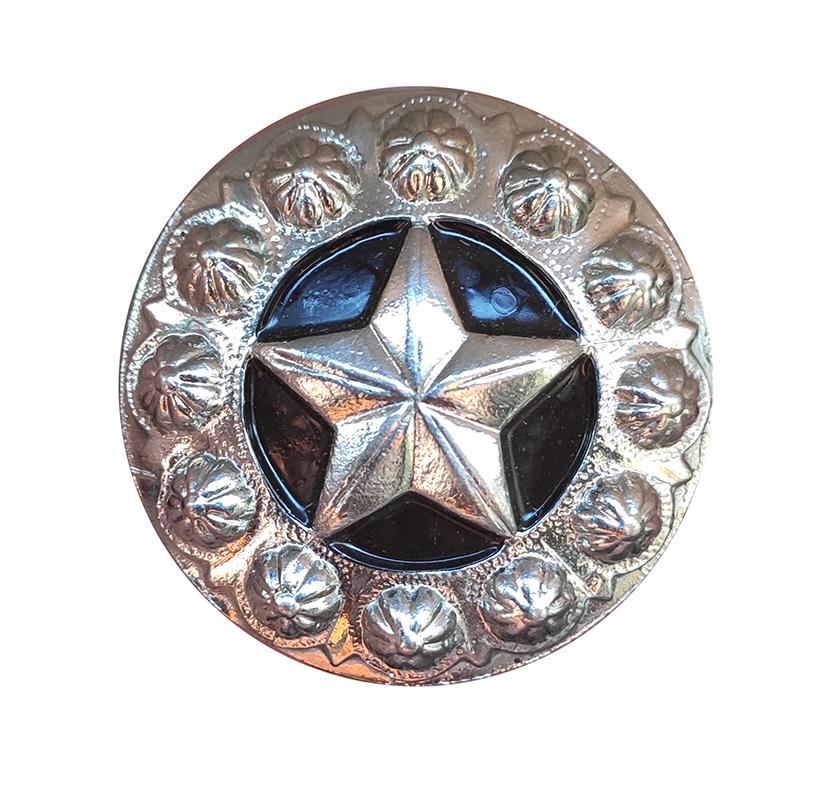 Margarida G7 latão Parafuso para Selas  *Estrela Prata*