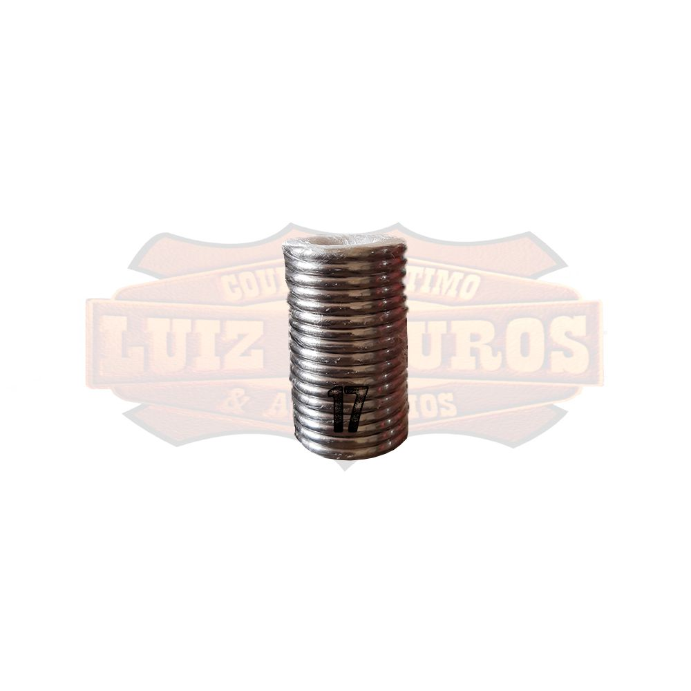 Pacote de Argola Inox Nº 17 Chata Pacote C/20 Unidades