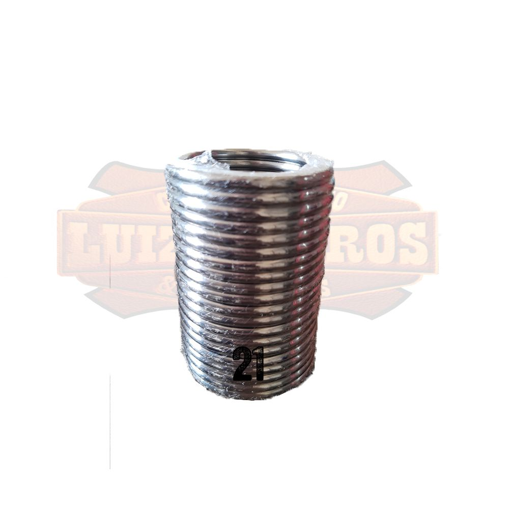 Pacote de Argola Inox Nº 21 Chata Pacote C 20 Unidades