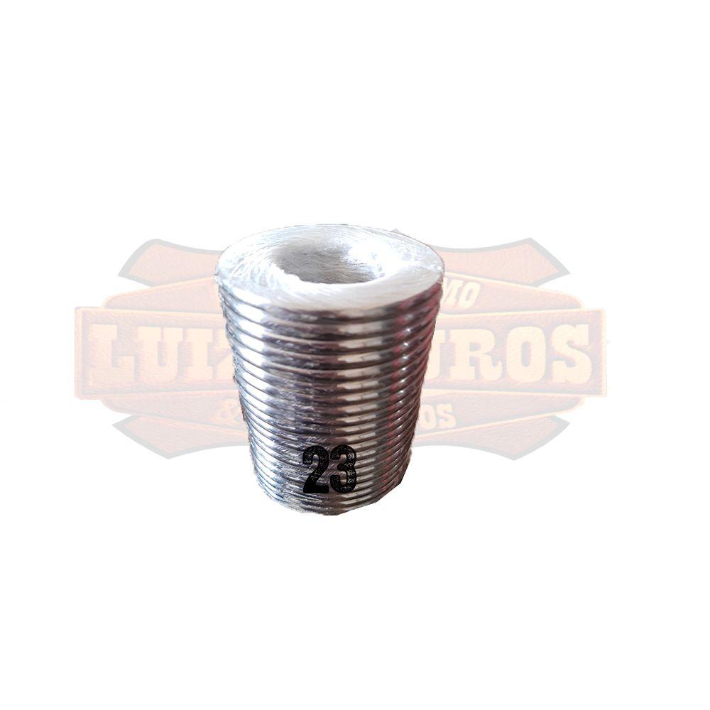 Pacote de Argola Inox Nº 23 Chata Pacote C/20 Unidades