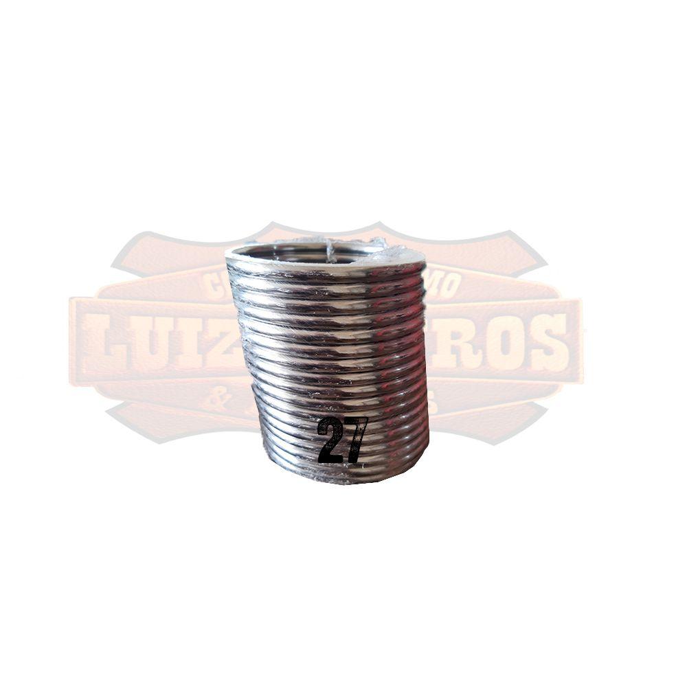 Pacote de Argola Inox Nº 27 Chata Pacote C/20 Unidades