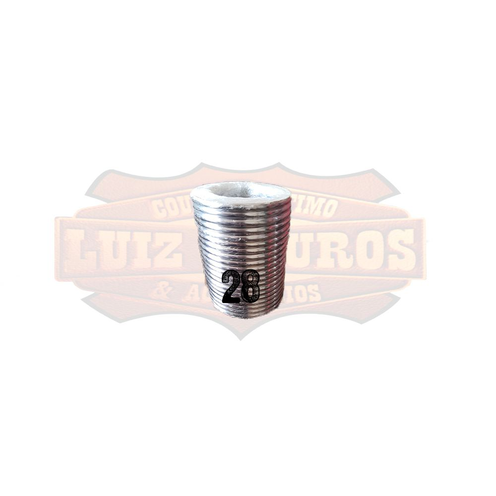 Pacote de Argola Inox Nº 28 Chata Pacote C/20 Unidades