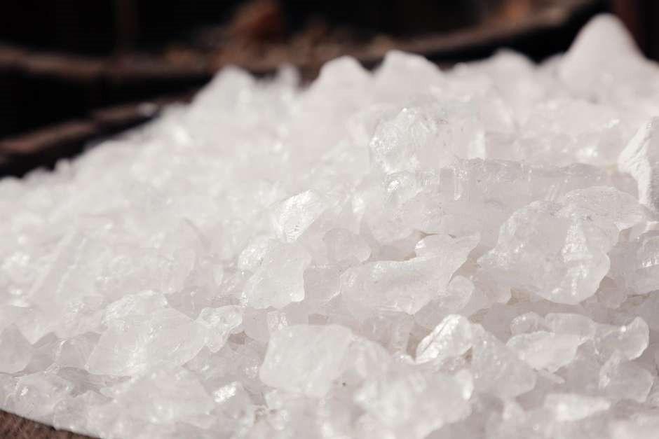 Pedra Hume Cristal 1kg Alúmen Potássio Curtimento Couro