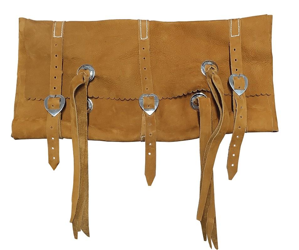 Porta capa de vaqueta abufalada