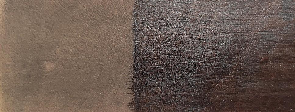 Tinta Para Couro cor Caramelo Escuro / Sola / Selaria 1lt.- Fabricação Própria