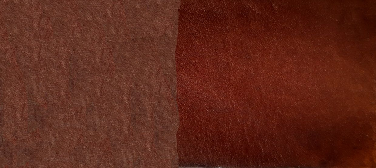 Tinta Para Couro tabaco / Sola / Selaria 1lt.- Fabricação Própria