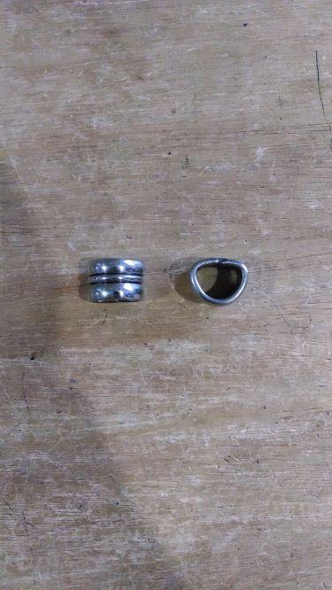 Virola Dupla 16mm Feito em Inox