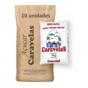 Açúcar Refinado Caravelas kg (Fardo 10kg)
