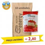 Açúcar Refinado Extra Fino Energy kg (Fardo 10kg)