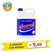 Água Sanitária Cloral 5 Litros