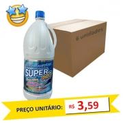 Água Sanitária SuperPro 2l (Caixa c/ 6)