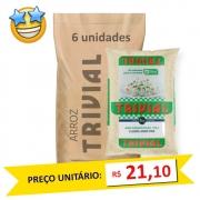 Arroz Branco Tipo2 Trivial 5kg (Fardo c/ 6)