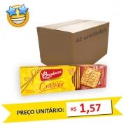 Biscoito Cream Cracker Bauducco 200g (Caixa c/42)