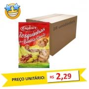 Biscoito Rosquinha Banana Cadore 350g (Caixa c/ 28)