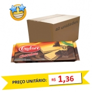Biscoito Wafer Chocolate Cadore 120g (Caixa c/ 40)