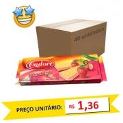 Biscoito Wafer Morango Cadore 120g (Caixa c/ 40)