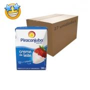 Creme de Leite Piracanjuba 200g (Caixa c/ 27)