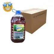 Desinfetante SuperPro Pinho Tradicional 5l (Caixa c/ 4)