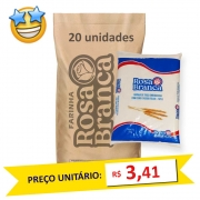 Farinha de Trigo Rosa Branca kg (Fardo c/ 20)