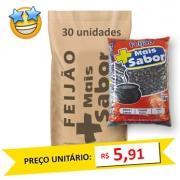Feijão Preto Tipo1 Mais Sabor (Fardo 30kg)