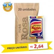 Fubá de Milho Rosa kg (Fardo 20kg)