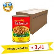 Grão de Bico Enlatado Oderich 220g (Caixa c/ 24)