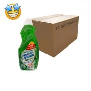 Limpador Perfumado Floresta SuperPro 1l (Caixa c/ 12)
