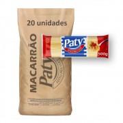 Macarrão Espag. Sêmola Paty 500g (Fardo c/ 10kg)
