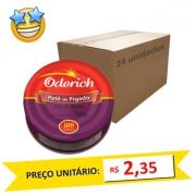 Patê de Fígado Oderich 100g (Caixa c/ 24)
