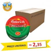 Patê de Frango Oderich 100g (Caixa c/ 24)