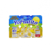 Iogurte Petit Suisse Banana Yofruta - Caixa c/ 24