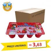 Petit Suisse Morango Yofrutinha 320g (Caixa c/ 12)