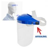 """Protetor Facial Cristal Articulável 8"""" un"""