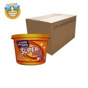 Sabão Pastoso Neutro Super Pro 500g (Caixa c/ 24)