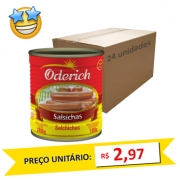 Salsichas em Conserva Oderich 180g (Caixa c/ 24)