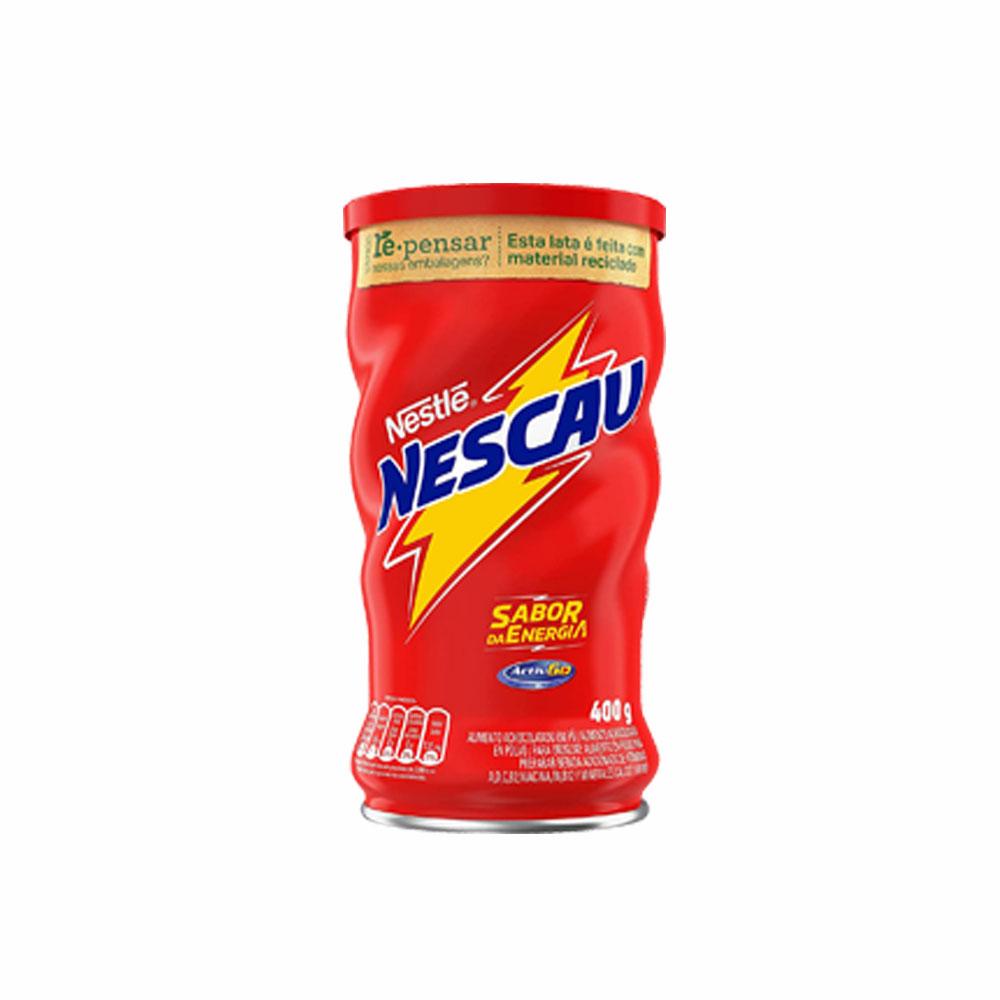 Achocolatado Nescau 400g (caixa c/30)  - Grupo Borges Atacadista
