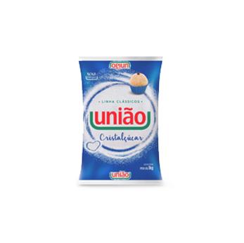 Açúcar Cristalizado União 1kg (Fardo c/ 10kg)   - Grupo Borges Atacadista