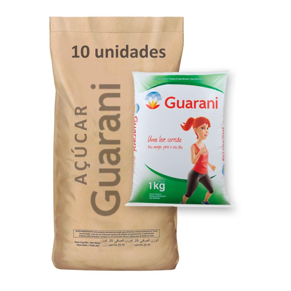 Açúcar Refinado Guarani kg (Fardo 10kg)  - Grupo Borges Atacadista
