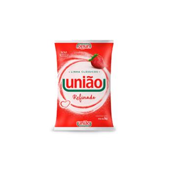 Açúcar Refinado União 1kg (Fardo c/ 10kg)   - Grupo Borges Atacadista