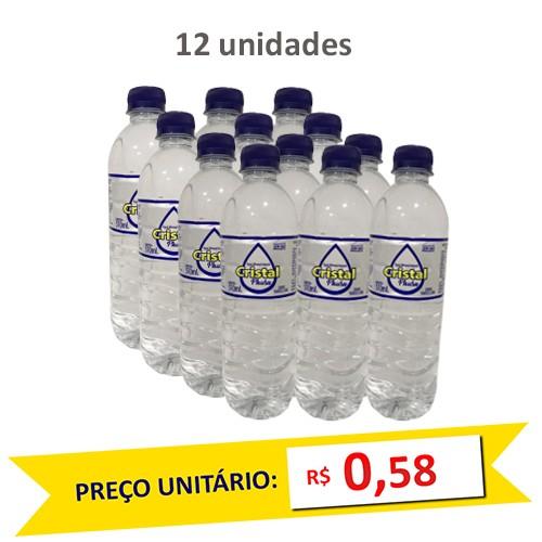Água Mineral Natural Cristal Phura 510ml (Pack c/ 12)