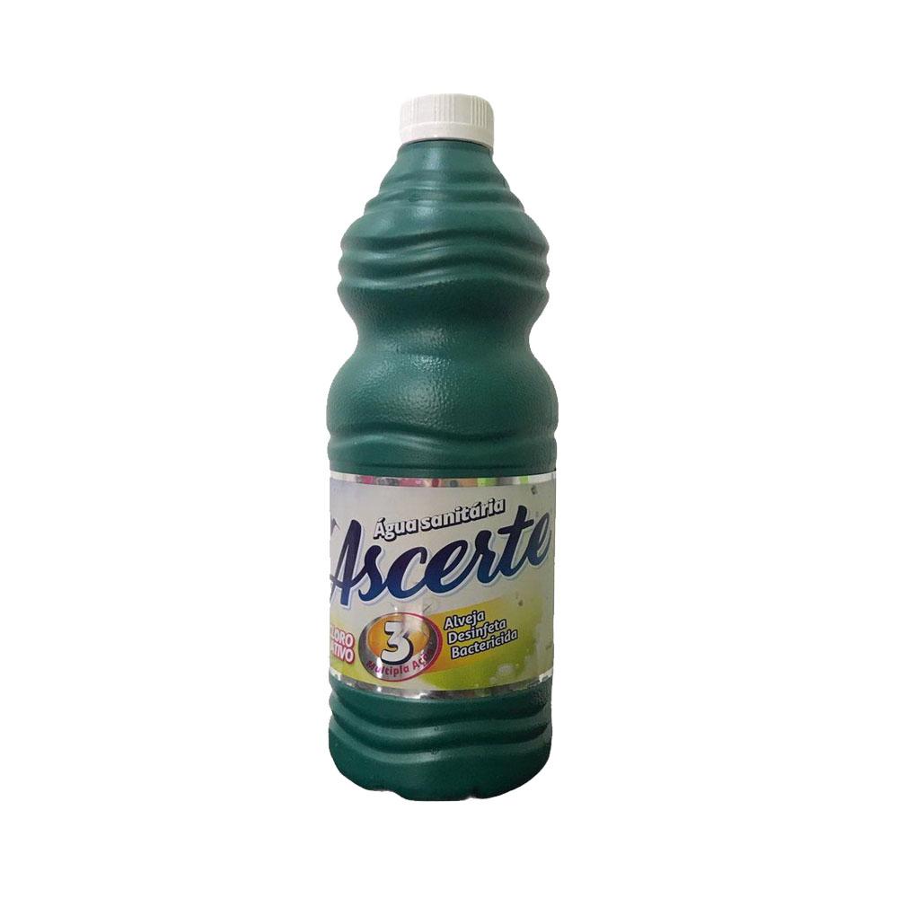 Água Sanitária Ascerte 1L (caixa c/12)