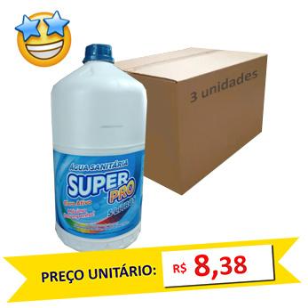 Água Sanitária SuperPro 5l (Caixa c/ 3)