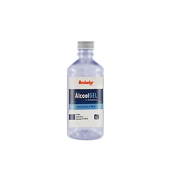 Álcool GEL Resicolor 70% Antisséptico 500ml